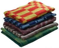 Одеяло детское 72% шерсти 100х140 см от 10шт