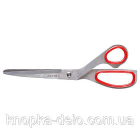 Ножницы 6002-А металлические Exakt, 20 см, красные