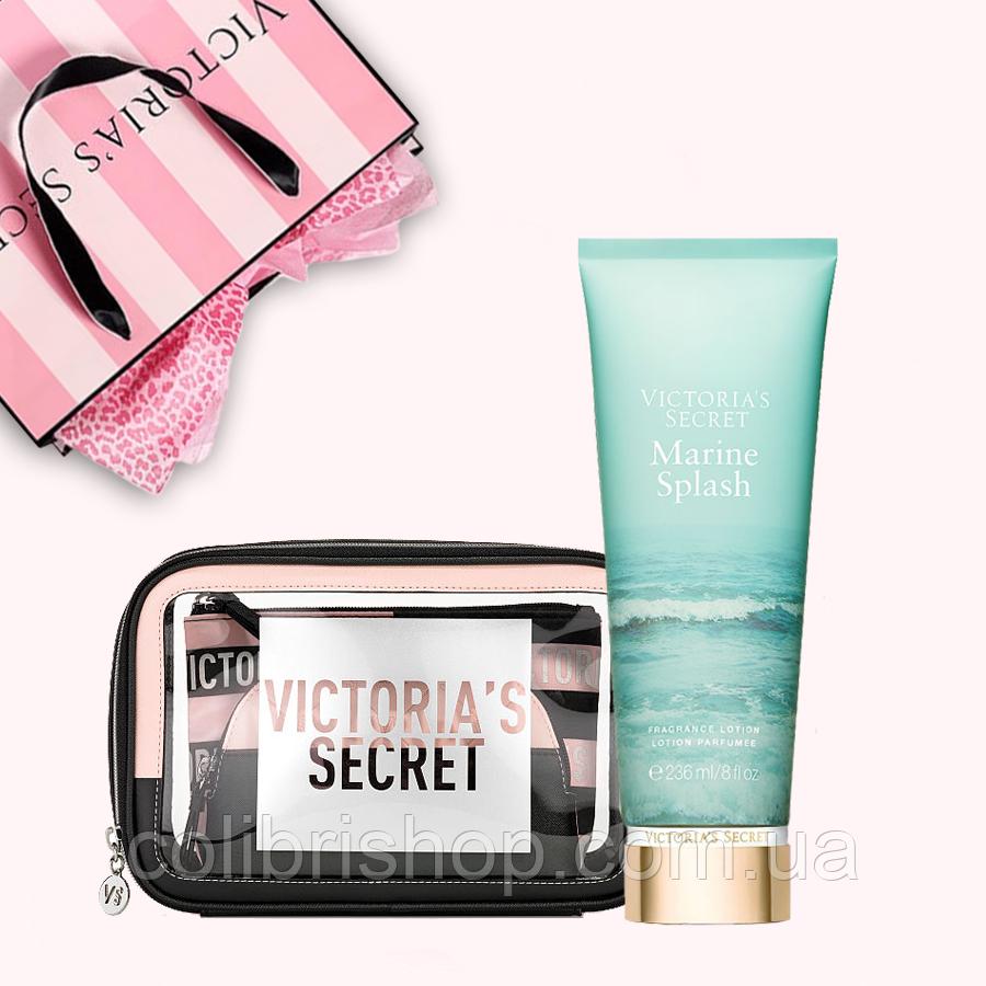 Подарочный набор от Victoria's Secret (косметичка + лосьон)