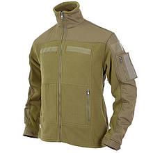 Куртка флісова MFH Combat Olive Size L