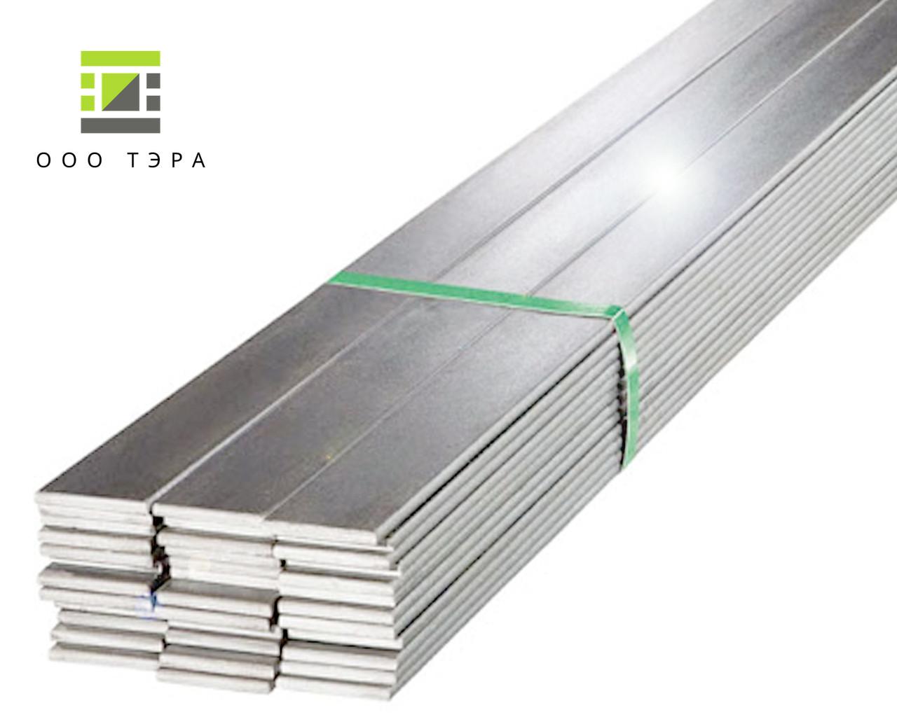 Алюминиевая полоса, шина 40 х 4 мм 6060 Т6 (АД31Т) электротехническая