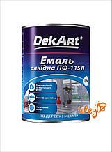 Краска для ульев, эмаль алкидная ПФ-115 TM DekArt. Зеленая - 0,9 кг