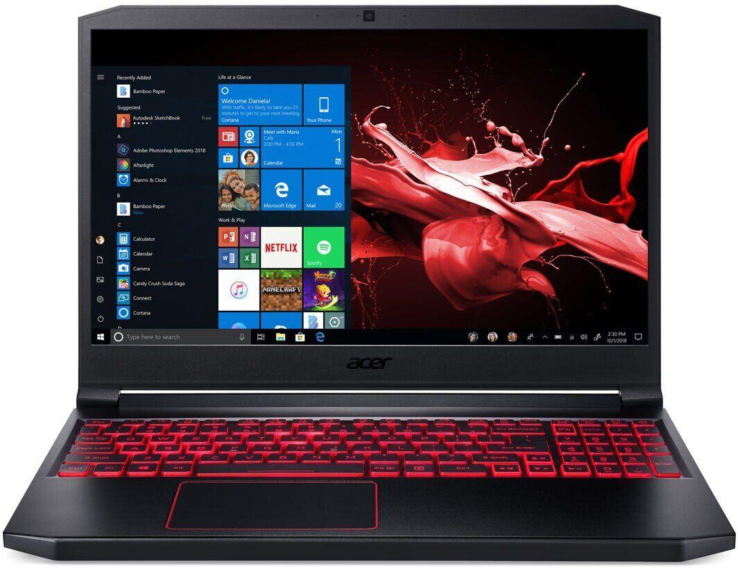 "Acer NITRO 7 AN715-51-73BU GAMING Core™ i7-9750H 2.6GHz 256GB SSD 8GB 15.6"" (1920x1080)"