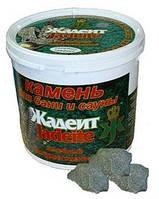 Камень для сауны жадеит колотый 5 кг