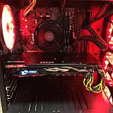 Игровой компьютер Golden Field Ryzen 5-3400G RAM 16GB  SSD 240GB + HDD 1TB GTX1080 8GB 256bit, фото 4
