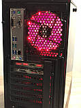 Игровой компьютер Golden Field Ryzen 5-3400G RAM 16GB  SSD 240GB + HDD 1TB GTX1080 8GB 256bit, фото 5