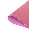 Фоамиран 2мм глиттерный 50х50 см светло розовый 1906