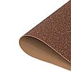 Фоамиран 2мм глиттерный 50х50 см шоколад 1914
