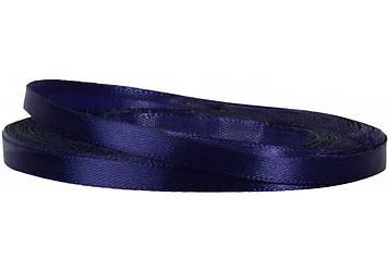 Стрічка атлас 0,5смх22м темно-синя №MX62161-81