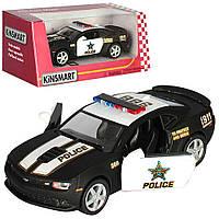 """Машина метал. """"Kinsmart"""" поліція,12см, у кор-ці,16х7х8см №KT-5383-WP(24)"""