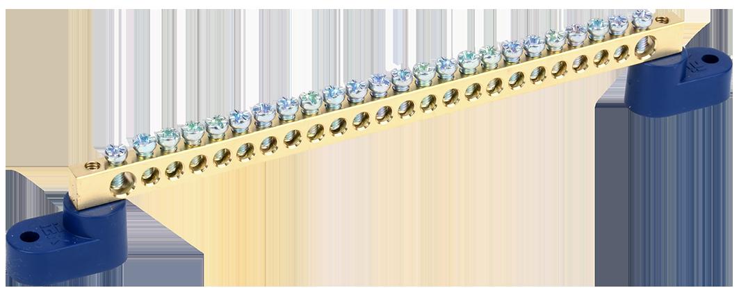 "Шина N ""ноль"" на двух угловых изоляторах ШНИ-6х9-24-У2-С IEK"
