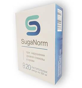 SugaNorm - Капсулы от нарушения уровня глюкозы в крови (ШугеНорм) #E/N