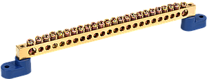 "Шина N ""ноль"" на двух угловых изоляторах ШНИ-8х12-24-У2-С IEK, фото 2"