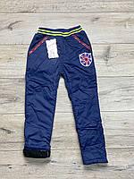 Утепленные штаны из водоотталкивающей ткани на флисе. 2- 5 лет.