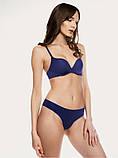 Синие женские трусики-бразилиана, фото 4