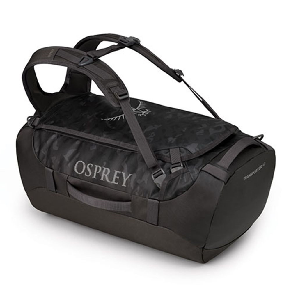 Сумка дорожня Osprey Transporter 40 Camo Black