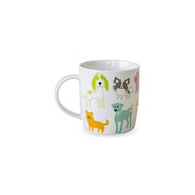 Чашка 415 мл Разноцветные собачки Keramia 21-272-045