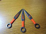 Набор метательных ножей 722 Дракон в чехле, фото 6