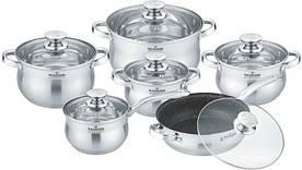 Набор посуды Maxmark MK-BL2512A 12 предметов