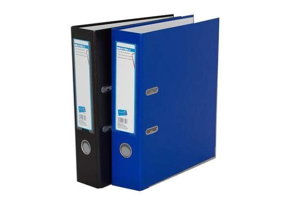 Папка-реєстратор на 4-D кільця, А4, 50мм, синя