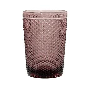 Стакан високий OLens Амбер 34215-15-4 350 мл рожевий