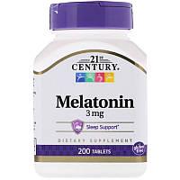 21st Century Melatonin 3mg (200tab)