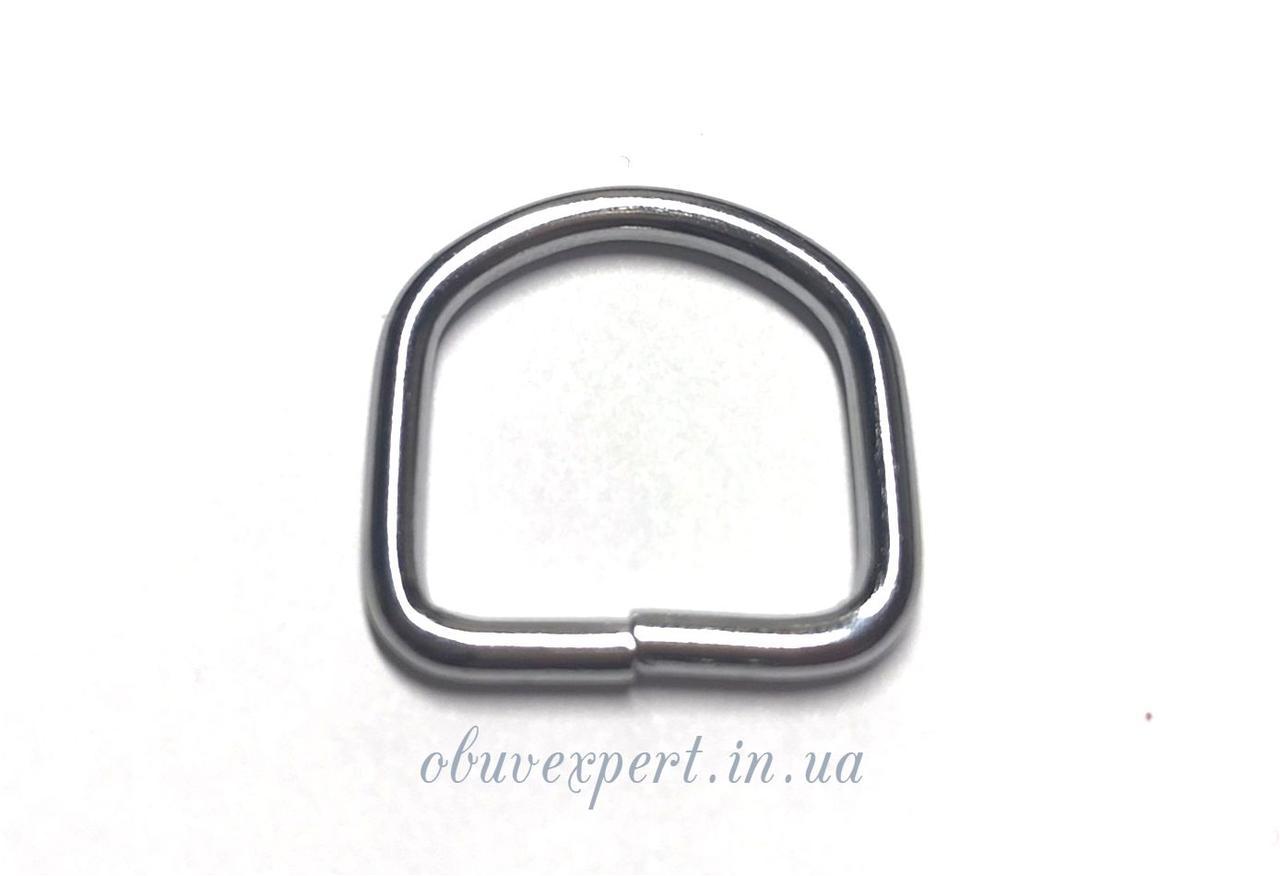 Полукольцо сварное 20*20 мм, толщ. 2,9 мм, Хром