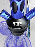 КАЛЬЯН AMY DELUXE 3 D синий, фото 5