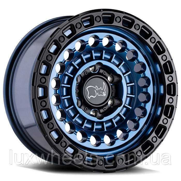 BLACK RHINO Sentinel COBALT BLUE W/ BLACK EDGE