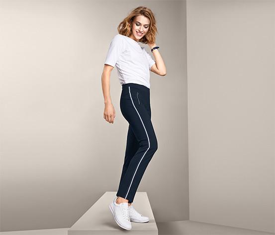 Стильные брюки, штаны с лампасами от tcm Tchibo (чибо), Германия, размер укр 50-54