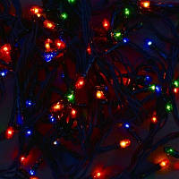 Гирлянда светодиодная, 100 лампочек, 4.5 метра, мультиколор SKL11-179592