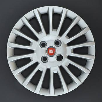 Колпаки R15 FIAT (Linea Doblo) под болты (разболтовка 4*100) A138  (эмблема на скотче)