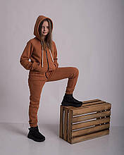 Подростковый теплый спортивный костюм