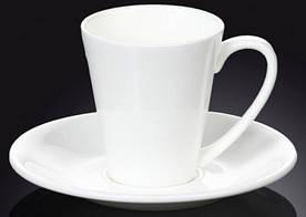 Чашка WILMAX кофейная с блюдцем 110 мл. WL-993005