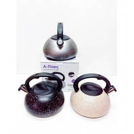 Чайник зі свистком на 3 л A-Plus AP-1327