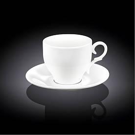 Чашка для капучино с блюдцем на 170 мл Wilmax WL-993104