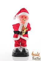 """Музыкальная игрушка """"Дед мороз с саксофоном"""""""