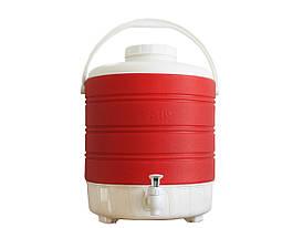 Термос диспенсер для розливу напоїв Kale Mazhura MZ-1007-RED 12 л червоний