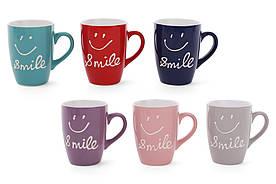 Кружка керамічна 330 мл Smile BonaDi 593-247