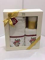 Новогодние полотенца Tivolyo Home