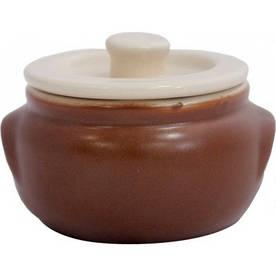 Кастрюля керамическая 195мл Табако-Крем 19979