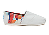 Женские TOMS Orange Canvas Bojagi Women's Classics