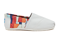 Женские TOMS Orange Canvas Bojagi Women's Classics, фото 1
