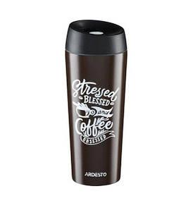 Термокружка 450 мл Coffee time Cup Ardesto AR-2645-DBB