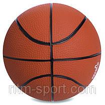 Мяч медицинский резиновый (медбол) 1 кг, фото 3