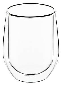 Набор высоких стаканов с двойным дном 250 мл 2 шт Ardesto AR-2625-G