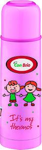 Вакуумный детский термос 350 мл Con Brio СВ-344розов