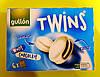 Печенье Gullon Twins в белом шоколаде 252 г