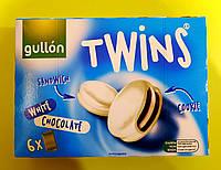 Печенье Gullon Twins в белом шоколаде 252 г, фото 1