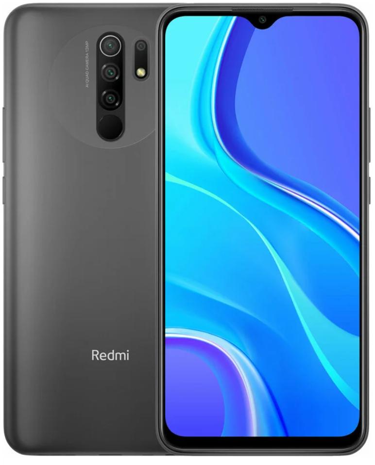 Xiaomi Redmi 9  3/32GB Grey EU  Global Version (no NFC)